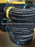 DIN En 853 SAE100 R2の高圧油圧ゴム製管