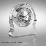 Orologio di vetro M-5076 dell'orologio a cristallo dello scrittorio di alta qualità