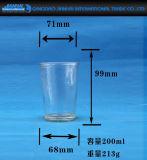 De lange Houder van de Kaars van het Glas van de Cilinder voor de Viering van het Festival
