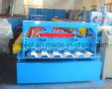 Estructura de piso de acero Máquina formadora de rollos del azulejo / metal que forma la máquina