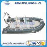 Barco inflável do reforço de Hypalon/PVC (RIB390)