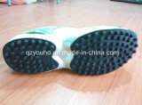 Chaussures de course de sport vert clair pour les hommes