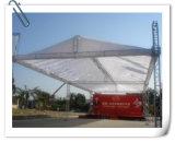 Алюминиевая ферменная конструкция треугольника на ферменной конструкции этапа сбывания