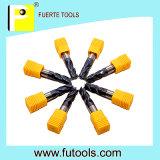 4 CNC van fluiten de Hulpmiddelen van de Molen van het Eind van de Draaibank voor de Harde Verwerking van het Metaal