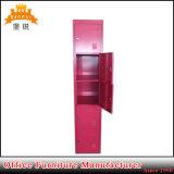 Un armadio d'acciaio dei 5 dei portelli dell'allievo del personale del lavoro dei vestiti di memoria Governi del metallo