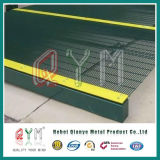 Il PVC ha ricoperto 358 alte barriere di sicurezza di collegare del rasoio