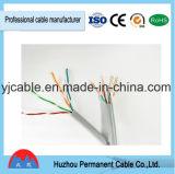 Cable de LAN del gato 5e de la categoría