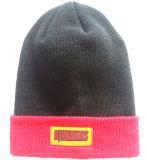 Chapeaux de tricotage brodés par qualité (S-1072)