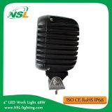 Luz cuadrada del trabajo de 48W LED 4 pulgadas para el carro de la carretilla elevadora que trabaja la luz del trabajo del uso