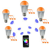 RGB/RGBW LED Bulb의 Bluetooth/WiFi/