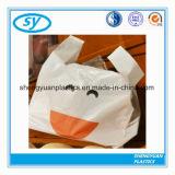 ショッピングのためのLDPEによって印刷される生物分解性のTシャツのポリ袋