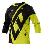 Usura di riciclaggio di sport di Motorcross di nuovo disegno giallo che corre la Jersey (MAT57)