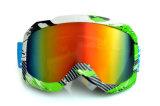 Anti-Rayer les lunettes de motocross de matériel de ski de PC d'enduit