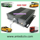 H. 264 автомобиль DVR канала карточки 4 SD передвижной для автомобиля таксомотора школьного автобуса
