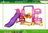 Les meilleurs jouets en plastique de jeu équipés pour l'arrière cour et le jardin d'enfants de Kaiqi