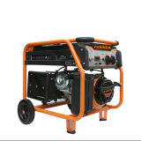 Gasolina do gerador, Portable - gerador monofásico da gasolina da potência de 5000W Fusinda
