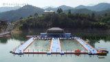 Plataformas de la piscina de la pieza los pontón