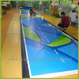 Напольное изготовленный на заказ печатание рекламируя знамя PVC винила (TJ-VB1)