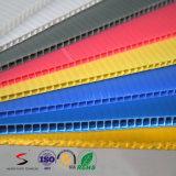 Carton ondulé Matériau Plastique Feuille