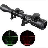 Reticle iluminado verde vermelho do Mil.-PONTO da vista do espaço do atirador furtivo da caça do laser de 3-9X40mm