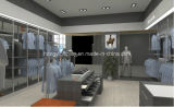 Hölzernes Furnier-Blattweiblicher Kleidung-System-Entwurf, Shopfitting