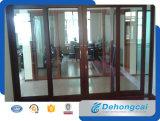 El nuevo diseño interior de la puerta con bisagras de la puerta de aluminio