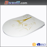 Slim Soft Close Duroplast Toilet Seat LED Night Light