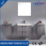 Neue Entwurfs-Melamin-Badezimmer-Eitelkeit mit seitlichem Schrank