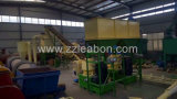 2000kg / H Linha de produção completa de pelota de madeira