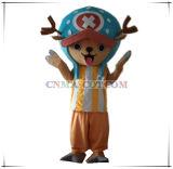 Personaggio dei cartoni animati di un pezzo interessante del costume della mascotte