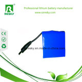 18650 pacchetto della batteria dello Li-ione di 2s1p 7.4V 2200mAh per la torcia elettrica