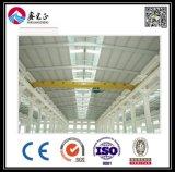 Atelier de structure métallique de modèle de construction (BYSS011405)