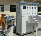 Herstellungs-Geräten-Silikon-Draht-Strangpresßling-Zeile Kabel-Maschine
