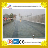 Fontana di acqua esterna artificiale della cortina d'acqua del ponticello
