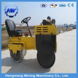 Rolos de estrada pequenos da roda do dobro do rolo Vibratory do compressor do solo