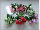 Flor artificial de Rosa da decoração quente por atacado do Sell (BH51025)