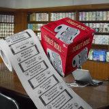 Les plaisanteries de merde ont estampé le fournisseur de la Chine de roulis de tissu personnalisé par papier de toilette