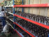 De Flens van het aluminium door Aluminium 6061-T6, met CNC wordt gemaakt die Technologie machinaal bewerken die