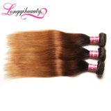 Человеческие волосы бразильянина Remy девственницы сразу цены фабрики