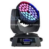 36*10W 4in1の段階の照明LED移動ヘッドズームレンズの洗浄