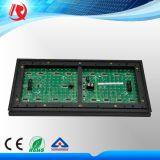 Modulo esterno della visualizzazione di LED del quadro comandi del LED dello schermo di visualizzazione del testo di Scrolling del tubo di colore verde del chip P10