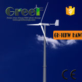 ветротурбина 10kw 200rpm с горизонтальным генератором ветра оси