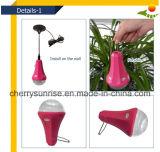 전기 충전기 휴대용 태양 램프 15 와트 태양 전지판 태양 점화