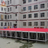 Im Freienleistungs-Aluminium-justierbares Stadium der Ereignis-grosses Furnierholz-grosses modulares im Freien Plattform-LED