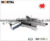 Machine à couper glissière de meubles en bois Lame de scie inclinable avec scie à table coulissante