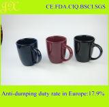 Taza de cerámica del regalo promocional, con la sublimación o la impresión