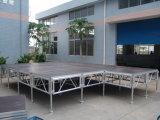 イベントの大きい合板の大きいモジュラー屋外のプラットホームLED屋外パフォーマンスアルミニウム調節可能な段階