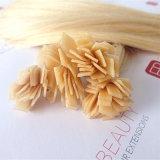 Extensions chaudes de cheveux humains de fusion d'extrémité plate