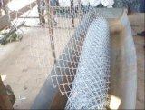 """ligação 2 """" X2 """" Chain galvanizada que cerc no engranzamento do rolo/diamante"""