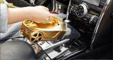 4 in 1 Funktions-Auto-Staubsauger mit Luftverdichter-Beleuchtung-Gummireifen-Druckanzeiger-Messen
